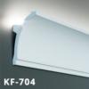 Kép 1/3 - Elite Decor Tesori Poliuretán rejtett világítás díszléc (KF-704) ütésálló