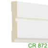 Kép 1/5 - Elite Decor Parkettaszegély léc (CR872) kemény poliuretánból, oldalfali díszlécnek is!