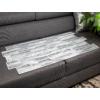 Kép 4/4 - Flexpanel PVC falburkoló lap - Keskeny, hasított kő mintás burkolólap műanyagból (szürke)