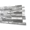 Kép 3/4 - Flexpanel PVC falburkoló lap - Ezüst pala (Silver shale)