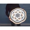 Kép 4/9 - Avide Rosa Mennyezeti LED lámpa (98W - 7800 lm) RF távirányítóval