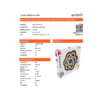Kép 8/9 - Avide Rosa Mennyezeti LED lámpa (98W - 7800 lm) RF távirányítóval