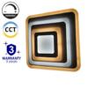 Kép 1/9 - Avide Nansy Mennyezeti LED lámpa (92W - 7500 lm) RF távirányítóval