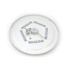Kép 8/9 - Avide ALICE IP44 mennyezeti csillagos LED lámpa, kör alakú (24W/2200lm) hideg fehér