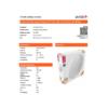 Kép 3/9 - Avide ALICE IP44 mennyezeti csillagos LED lámpa, kör alakú (18W/1600lm) természetes fehér