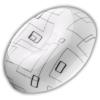 Kép 1/5 - Avide JELLY mennyezeti LED lámpa, kör alakú (18W/1600lm) természetes fehér