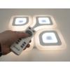 Kép 6/9 - Avide Dakar Mennyezeti LED lámpa (98W - 7300 lm) RF távirányítóval