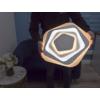 Kép 9/9 - Avide Eliza Mennyezeti LED lámpa (83W - 5900 lm) RF távirányítóval