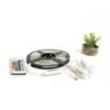 Kép 2/9 - Avide Smart LED szett beltéri: 5 méter RGB szalag 5050-30 - Smart Wi-Fi és távirányítós vezérelés + tápegység