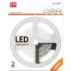 Kép 1/7 - Avide Fehér fényű LED szalag szett (2 méter LED szalag + tápegység)