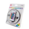 Kép 1/7 - Avide LED szalag szett beltéri: 3 méter RGB 5050-30 szalag - távirányítóval, vezérelhető + tápegység