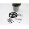 Kép 4/7 - Avide LED szalag szett beltéri: 3 méter RGB 5050-30 szalag - távirányítóval, vezérelhető + tápegység