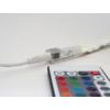 Kép 5/7 - Avide LED szalag szett beltéri: 3 méter RGB 5050-30 szalag - távirányítóval, vezérelhető + tápegység