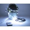 Kép 7/7 - Avide LED szalag szett beltéri: 3 méter RGB 5050-30 szalag - távirányítóval, vezérelhető + tápegység