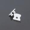 Kép 1/2 - LED Profiles Surface-2 Alumínium LED profil véglezáró elem, fehér