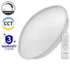 Kép 1/5 - Avide Stella Mennyezeti LED lámpa (80W - 4800 lm) RF távirányítóval