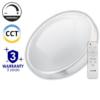Kép 1/5 - Avide Pandora-CCT Mennyezeti LED lámpa (48W - 2400 lm) RF távirányítóval