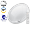 Kép 1/5 - Avide Pandora-CCT Mennyezeti LED lámpa (80W - 4800 lm) RF távirányítóval