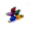 Kép 2/3 - Avide Színes filament LED lámpa szett E27 (1W/300°) Körte - zöld, kék, sárga, piros, lila