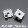 Kép 1/3 - LED Profiles ALP-005 Véglezáró alumínium LED profilhoz, szürke