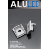 Kép 2/3 - LED Profiles ALP-005 Véglezáró alumínium LED profilhoz, szürke
