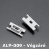 Kép 1/2 - LED Profiles ALP-009 Véglezáró alumínium LED profilhoz