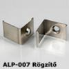 Kép 1/3 - LED Profiles ALP-007 Tartó-, rögzítő elem alumínium LED profilhoz, fém