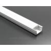 Kép 4/6 - LED Profiles ALP-002 - Aluminium U profil ezüst, LED szalaghoz, opál burával