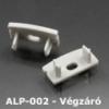 Kép 1/2 - LED Profiles ALP-002, ALP-002RL Véglezáró alumínium LED profilhoz, szürke