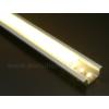 Kép 5/6 - LED Profiles ALP-001 - Aluminium U profil ezüst, LED szalaghoz, opál burával