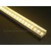 Kép 6/6 - LED Profiles ALP-002 - Aluminium U profil ezüst, LED szalaghoz, átlátszó burával