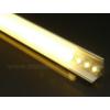 Kép 6/6 - LED Profiles ALP-006 Aluminium sarok profil ezüst, LED szalaghoz, opál burával