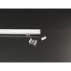 Kép 2/2 - LED Profiles ALP-002 Tartó-, rögzítő elem LED profilhoz, műanyag