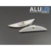 Kép 3/3 - LED Profiles ALP-021 Véglezáró alumínium LED profilhoz