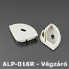 Kép 1/2 - LED Profiles ALP-016R Véglezáró alumínium LED profilhoz, szürke