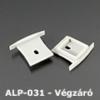 Kép 1/2 - LED Profiles ALP-031 Véglezáró alumínium LED profilhoz, szürke