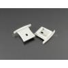 Kép 2/2 - LED Profiles ALP-031 Véglezáró alumínium LED profilhoz, szürke