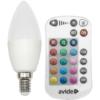 Kép 2/5 - Avide Smart LED E14 Candle izzó 5.5W RGB+W 2700K IR Távirányítóval
