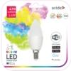 Kép 1/4 - Avide Smart LED E14 Candle izzó 5.5W RGB+W WIFI APP Control