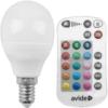 Kép 2/5 - Avide Smart LED E14 Mini Globe izzó 5.5W RGB+W 2700K IR Távirányítóval