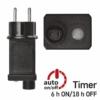Kép 10/10 - EMOS Alapkészlet Standard, sorolható, 10 m, hideg fehér, időzítő, IP44