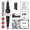 Kép 3/10 - EMOS Alapkészlet Standard, sorolható, 10 m, hideg fehér, időzítő, IP44