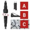Kép 4/10 - EMOS Alapkészlet Standard, sorolható, 10 m, hideg fehér, időzítő, IP44