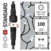 Kép 4/10 - EMOS Standard LED sorolható karácsonyi füzér, 10 m, hideg fehér, időzítő, IP44