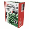 Kép 2/5 - EMOS Standard LED sorolható karácsonyi füzér, 10 m, zöld, időzítő, IP44