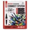 Kép 1/10 - EMOS Alapkészlet Standard, sorolható, 10 m, többszínű, időzítő, IP44