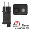 Kép 10/10 - EMOS Alapkészlet Standard, sorolható, 10 m, többszínű, időzítő, IP44