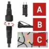 Kép 4/10 - EMOS Alapkészlet Standard, sorolható, 10 m, többszínű, időzítő, IP44