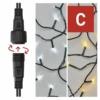 Kép 5/10 - EMOS Standard LED sorolható karácsonyi füzér, 10 m, meleg/hideg fehér, időzítő, IP44