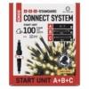 Kép 1/10 - EMOS Alapkészlet Standard, sorolható, 10 m, kültéri, meleg fehér, időzítő